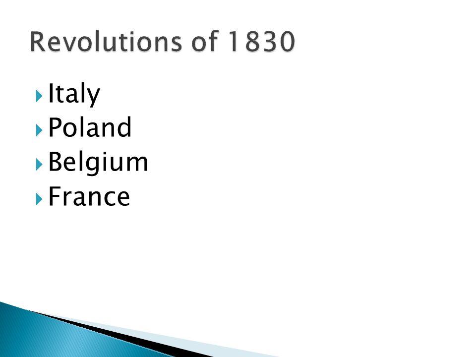  Italy  Poland  Belgium  France