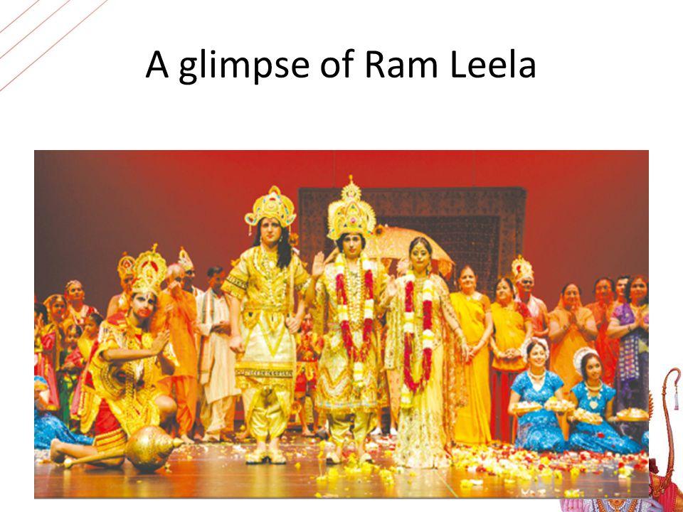 A glimpse of Ram Leela