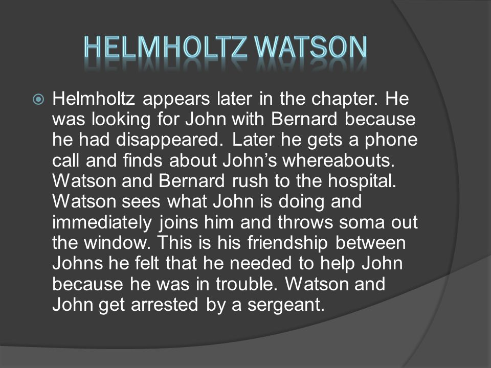  Helmholtz appears later in the chapter.