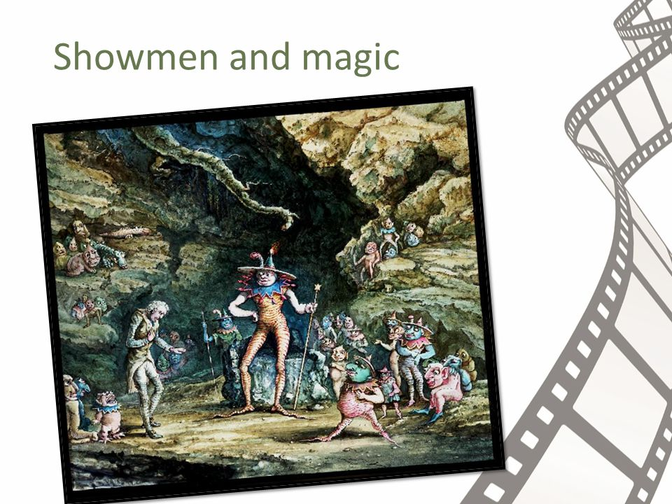 Showmen and magic
