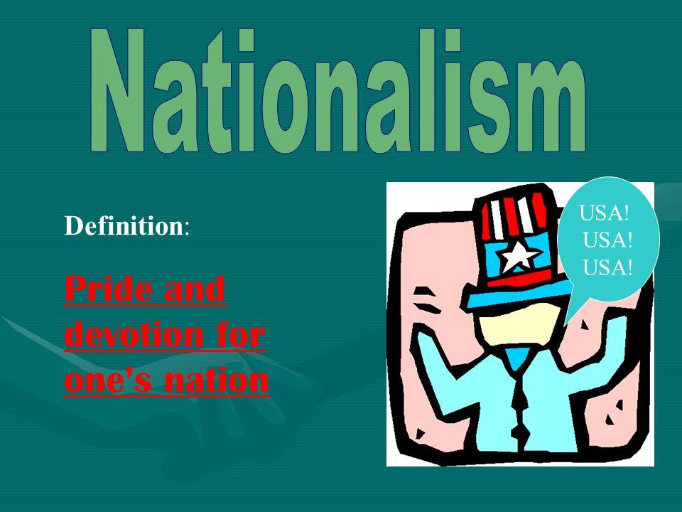 American Civil War Name that nationalism!