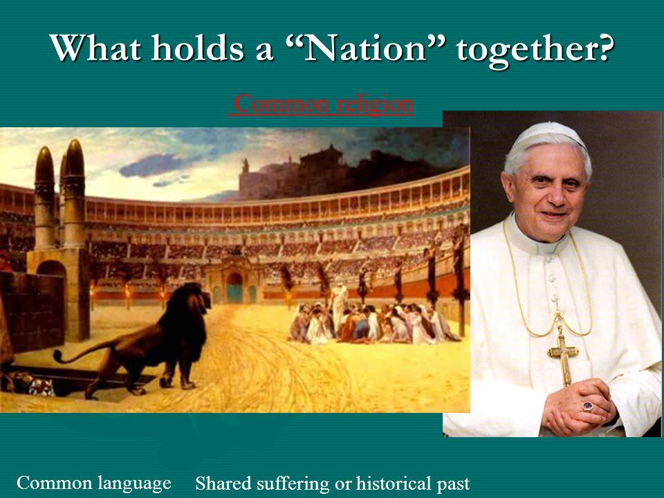 Nationalism the Renaissance