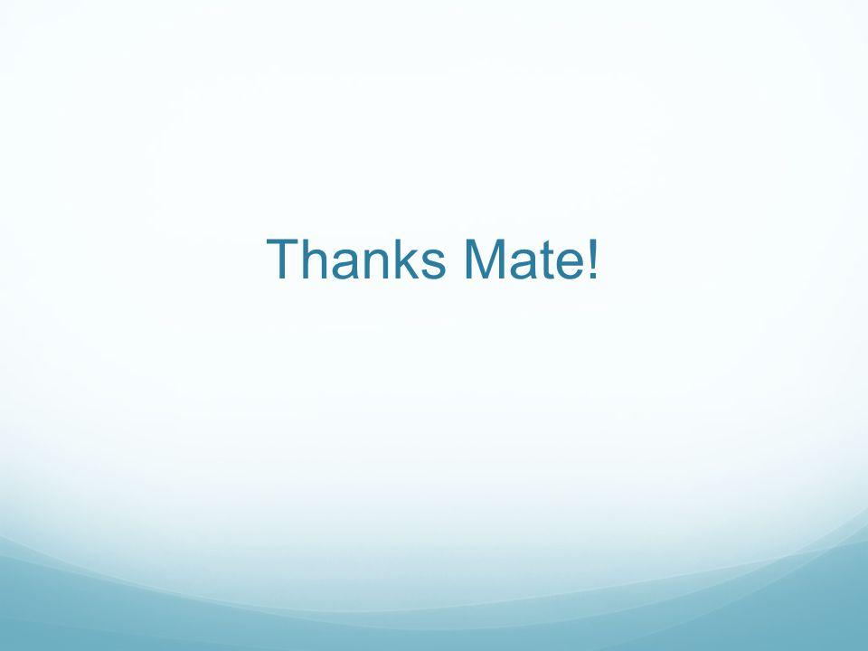 Thanks Mate!