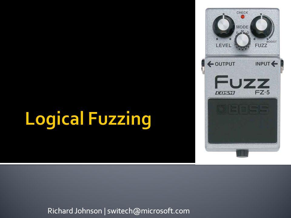 Richard Johnson | switech@microsoft.com