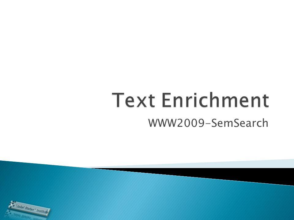 WWW2009-SemSearch