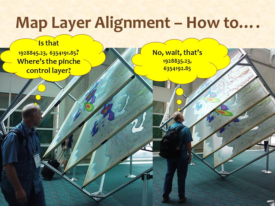 Map Layer Alignment – How to…. Is that 1928845.23, 6354191.85 .