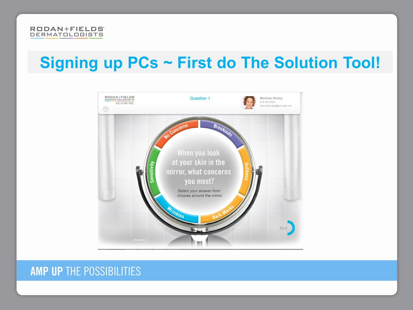 Signing up PCs ~ First do The Solution Tool!