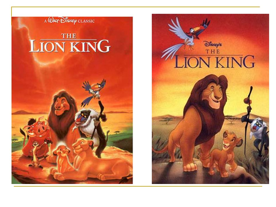 The three parts 1.The introduction in the begining 2.The story of The Lion King (1)Simba s childhood——adventure (2)The grown Simba—— revenge 3.The music and reward