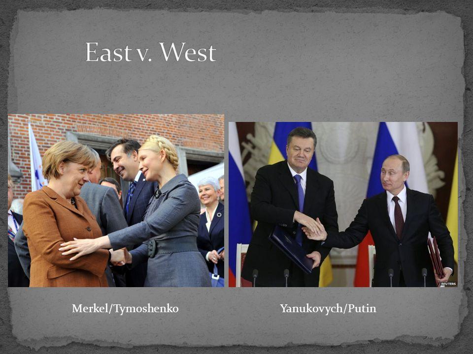 Merkel/Tymoshenko Yanukovych/Putin
