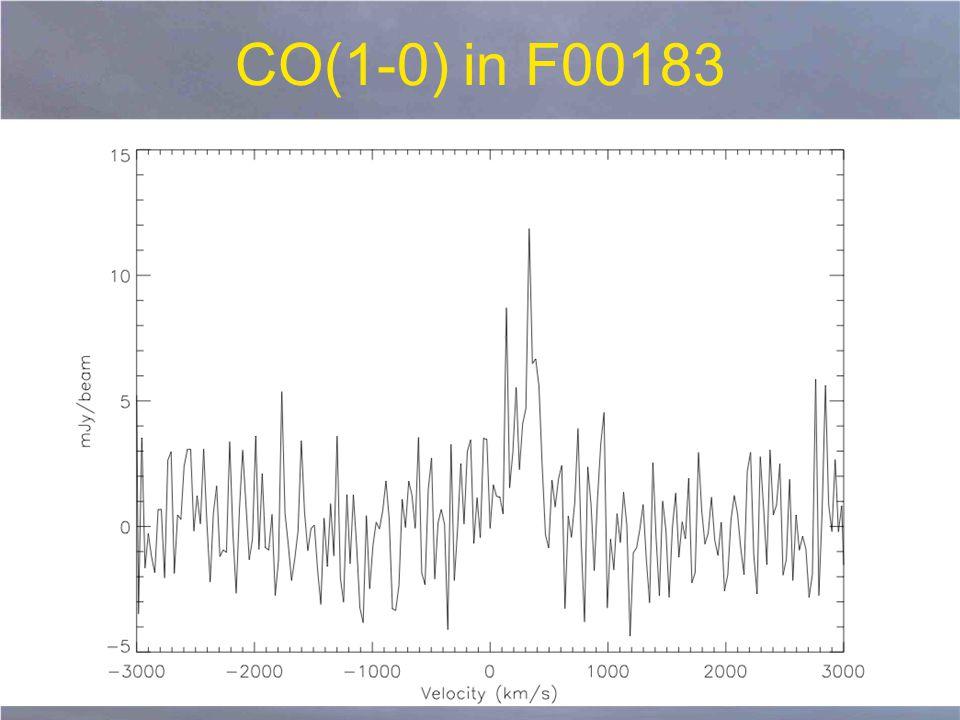 CO(1-0) in F00183