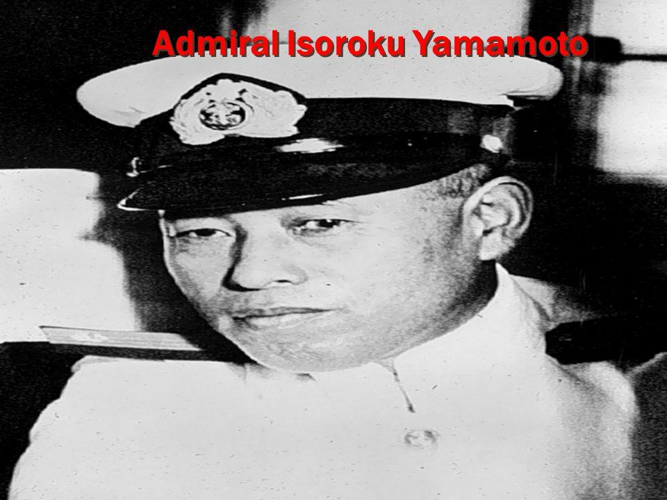 Admiral Isoroku Yamamoto