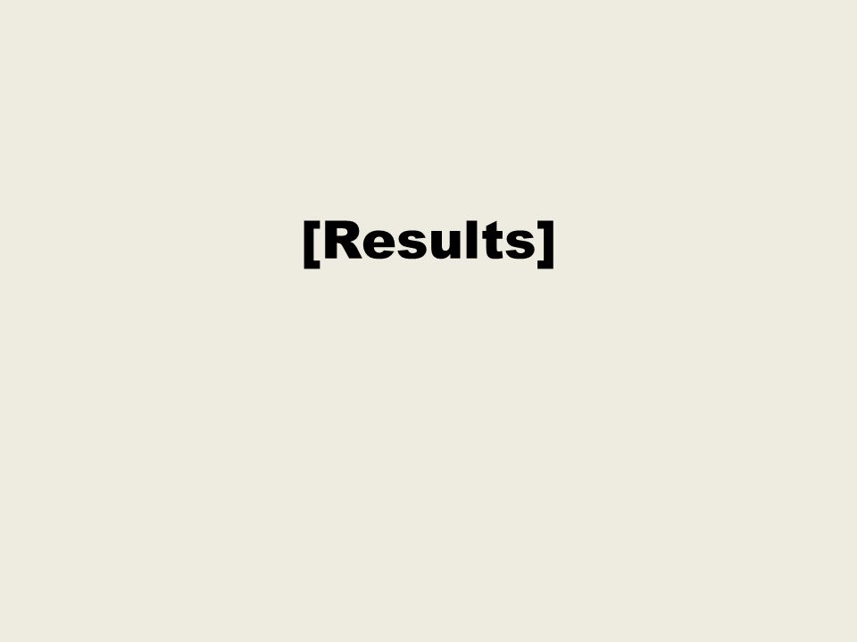 [Results]