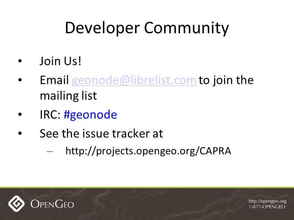Developer Community Join Us.
