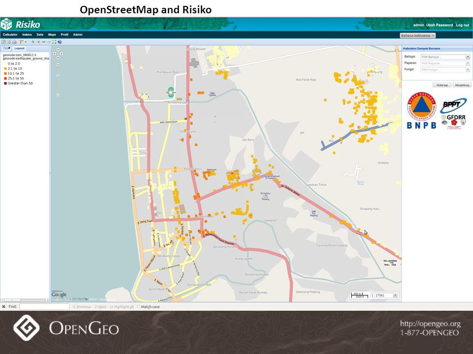OpenStreetMap and Risiko