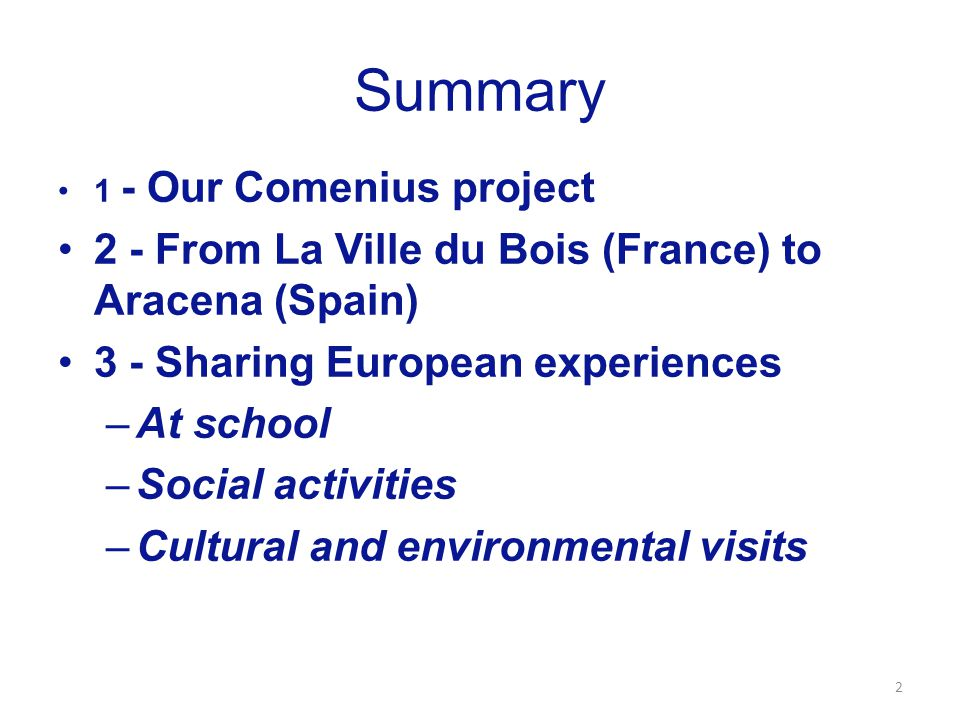Comenius project Turning Ideas Into Actions 2013-2015 European partnership with 7 schools in 5 countries 3