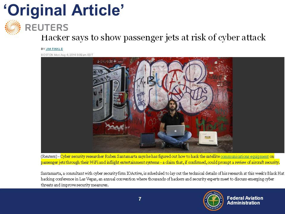 6 Federal Aviation Administration Airborne WiFi in the News