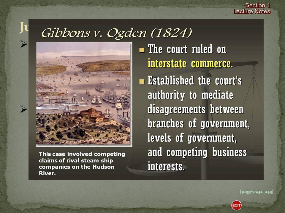  In 1819 in McCulloch v.
