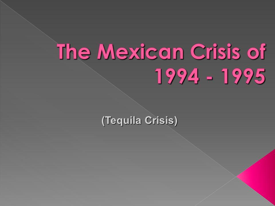 (Tequila Crisis)