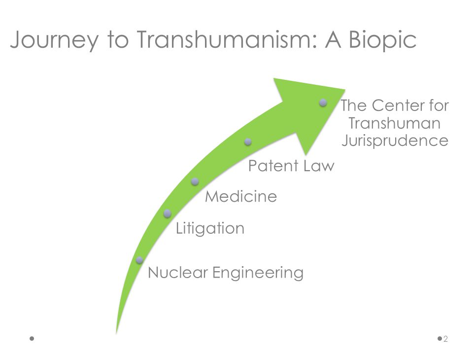 Nuclear Engineering Medicine Litigation The Center for Transhuman Jurisprudence Journey to Transhumanism: A Biopic Patent Law 2
