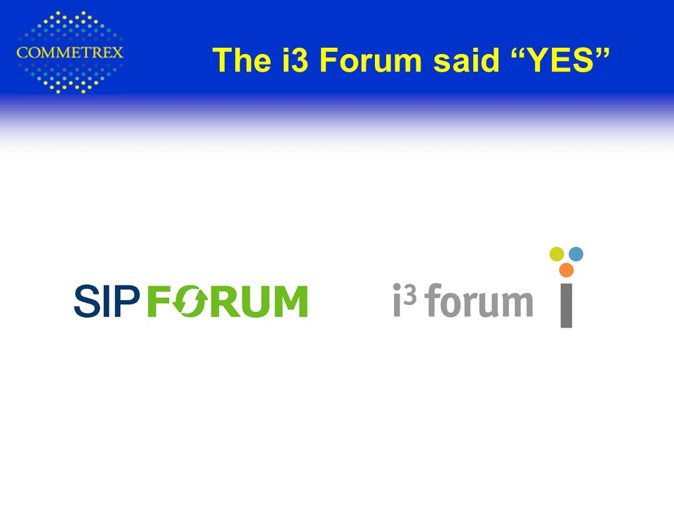 The i3 Forum said YES