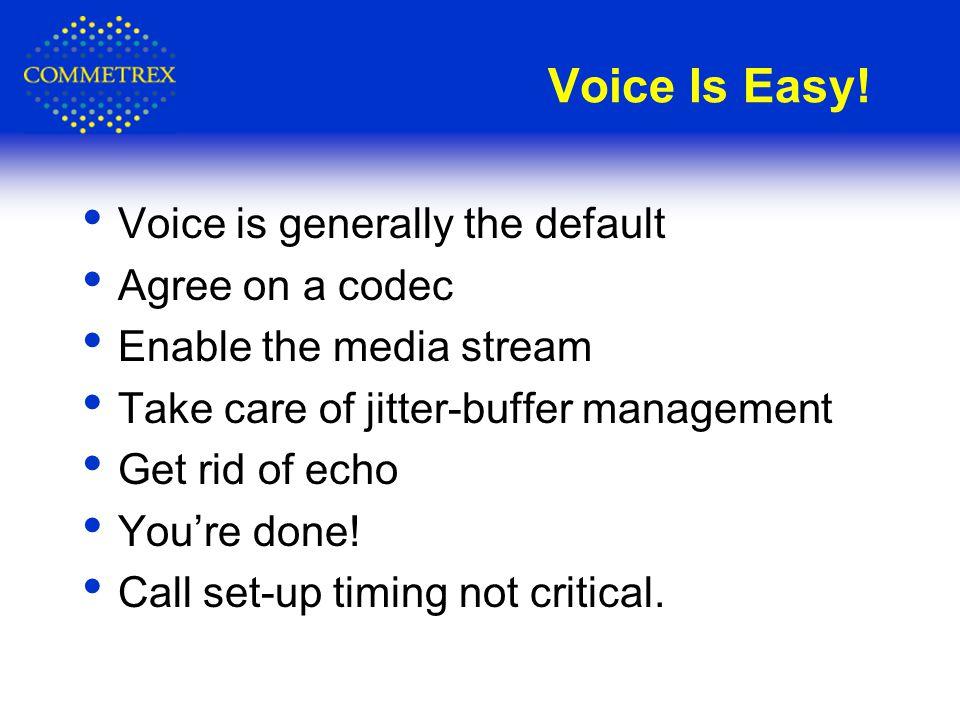 Voice Is Easy.