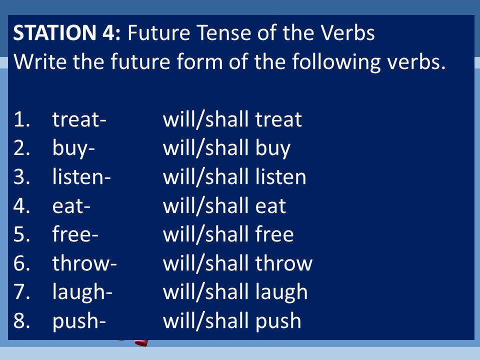 Some verbs change their spelling to form the past tense. These are called IRREGULAR VERBS. Tip: To remember the past tense of these verbs, in your min