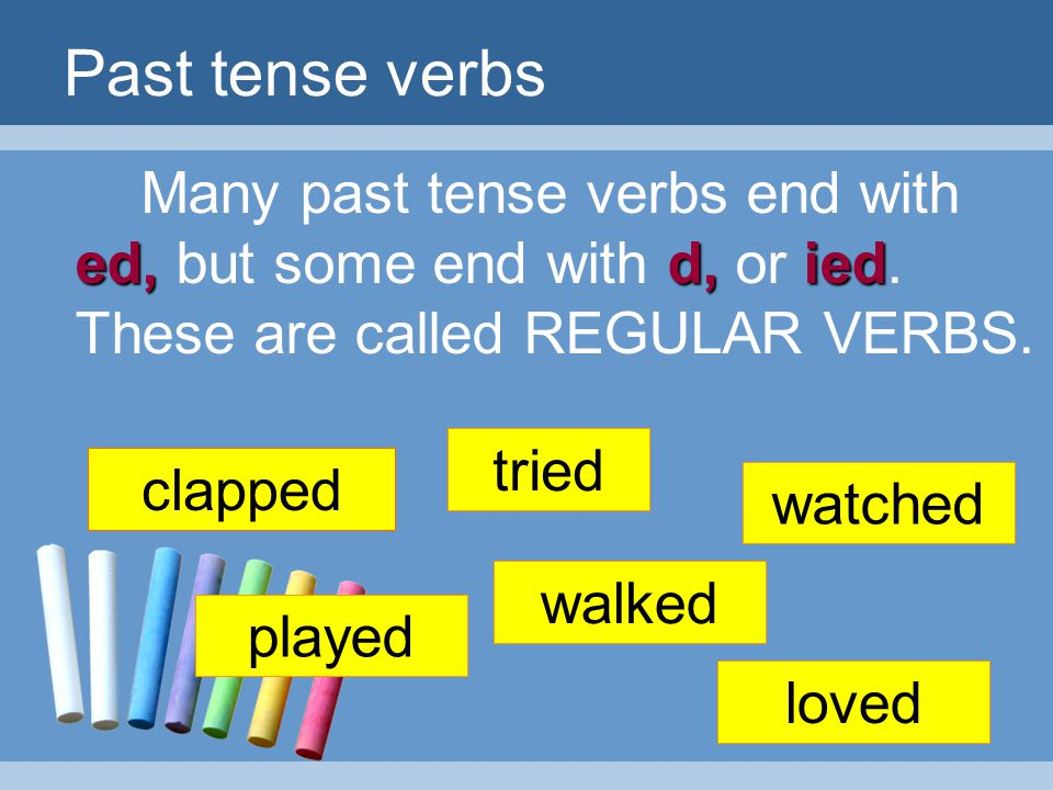 STATION 2: Past Tense of the Verbs Write the past form of the following verbs. 1.support-supported 2.accept-accepted 3.recite-recited 4.pray-prayed 5.