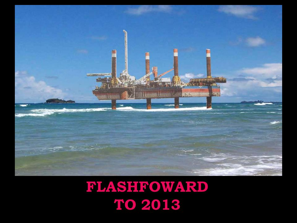 FLASHFOWARD TO 2013