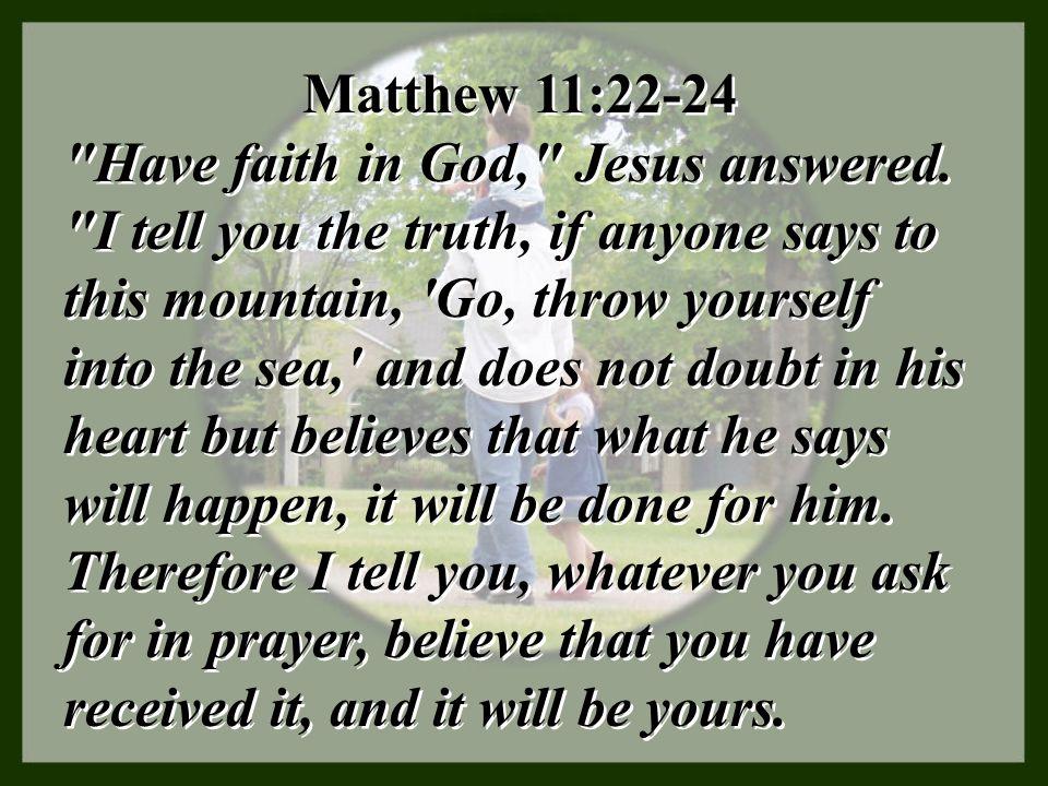 Matthew 11:22-24