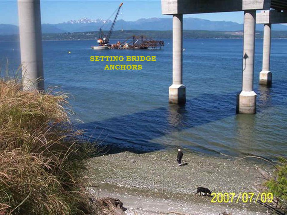 SETTING BRIDGE ANCHORS