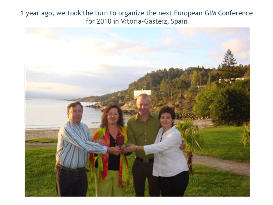 Pre-Conference: 11th – 12th September 2010 Vitoria-Gasteiz Conference: 13th to 16th September 2010 Laguardia www.agruparte.com