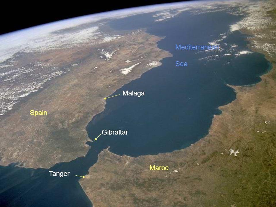 Strait of Gibraltar מיצר גיברלטר