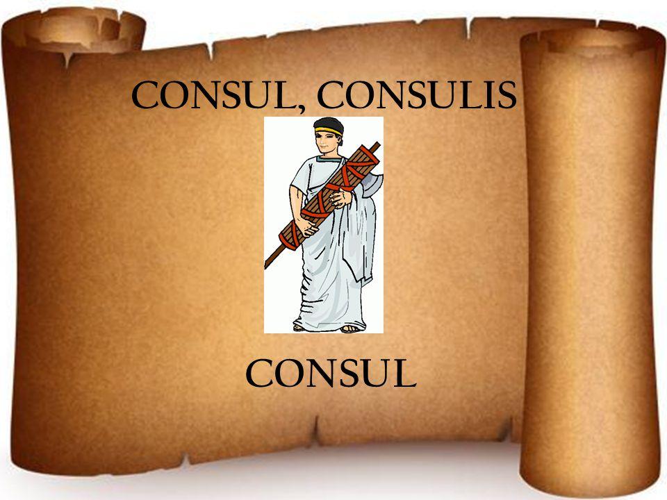 CONSUL, CONSULIS CONSUL