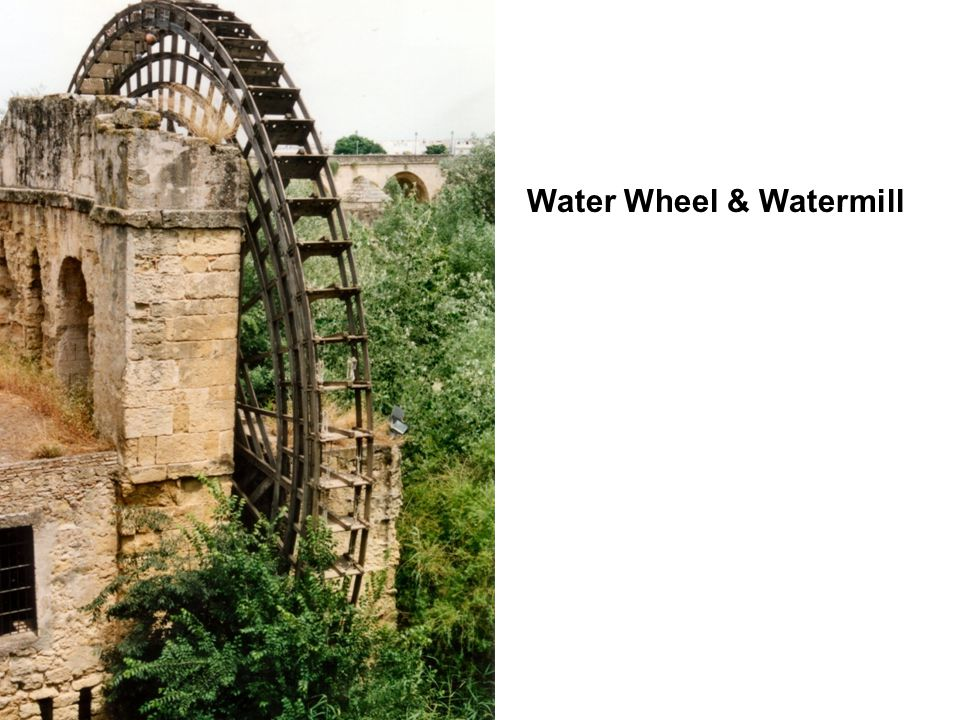 Water Wheel & Watermill