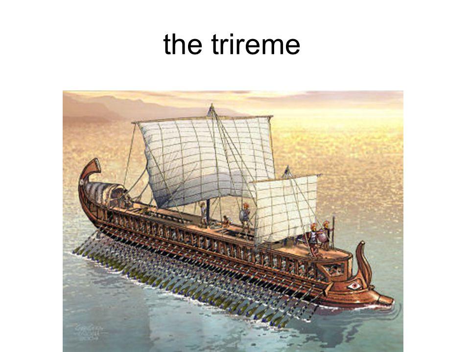 the trireme