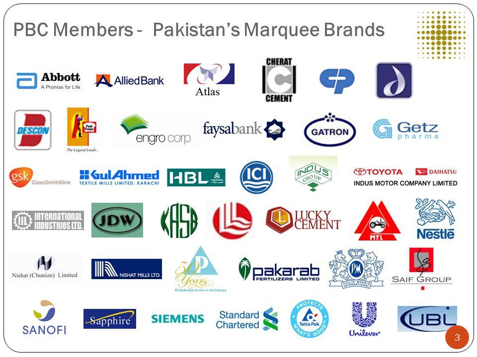 PBC Members - Pakistan's Marquee Brands 3