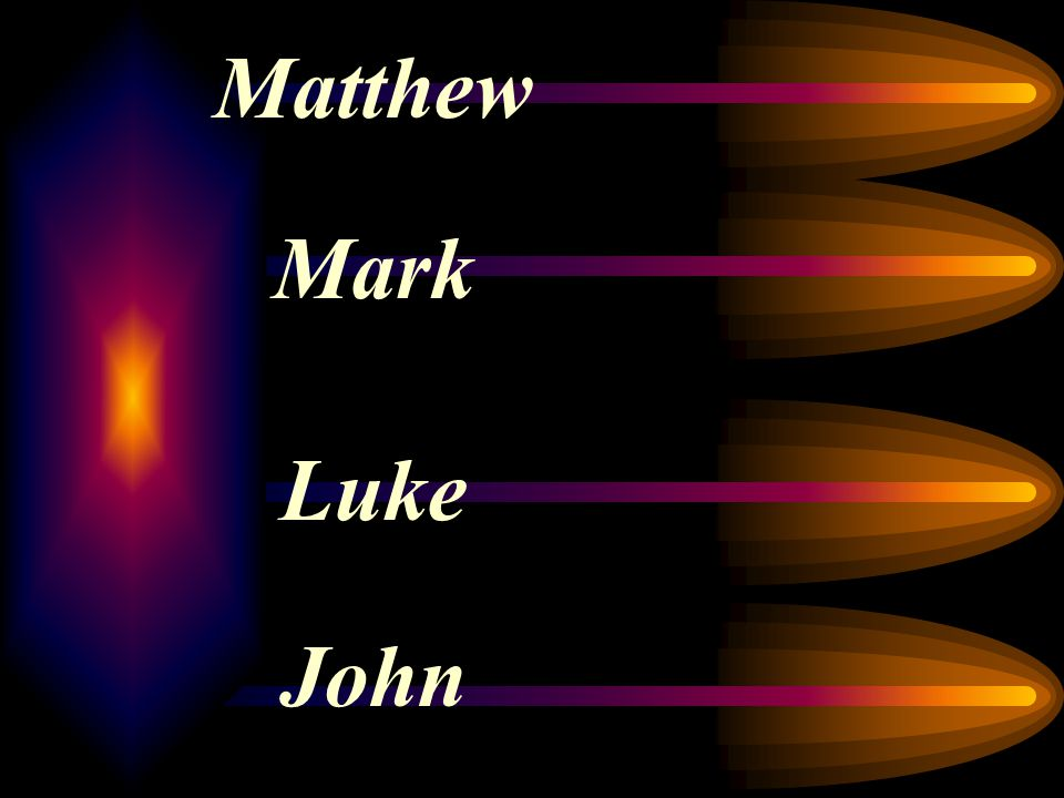Commonly Accepted Destinations Matthew: Jews Mark: Romans Luke: Greeks John: Cosmopolitan