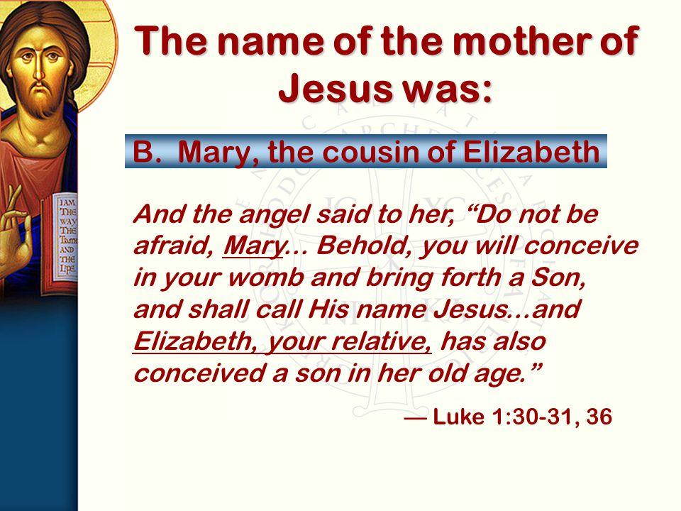 A.Jerusalem B.Galilee C.Bethlehem D.Capernaum Where was the baby Jesus born?