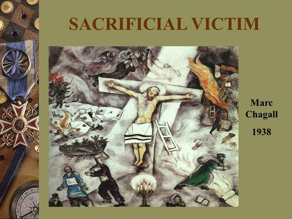 SACRIFICIAL VICTIM Marc Chagall 1938