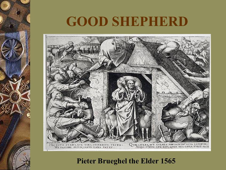 GOOD SHEPHERD Pieter Brueghel the Elder 1565