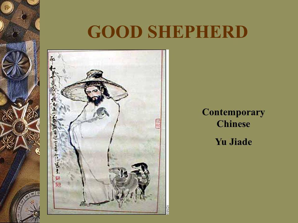 GOOD SHEPHERD Contemporary Chinese Yu Jiade