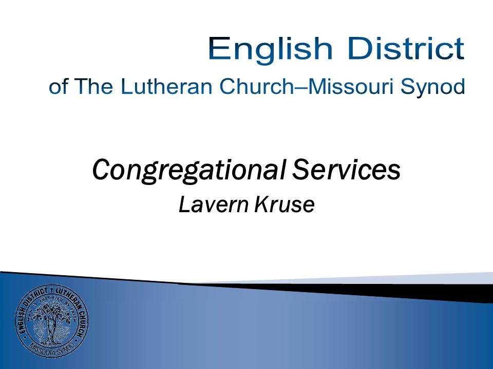 Parish Services with Tim Ewell Congregational Services – Lavern Kruse School Ministries – Gail Holzer NEW IN 2014