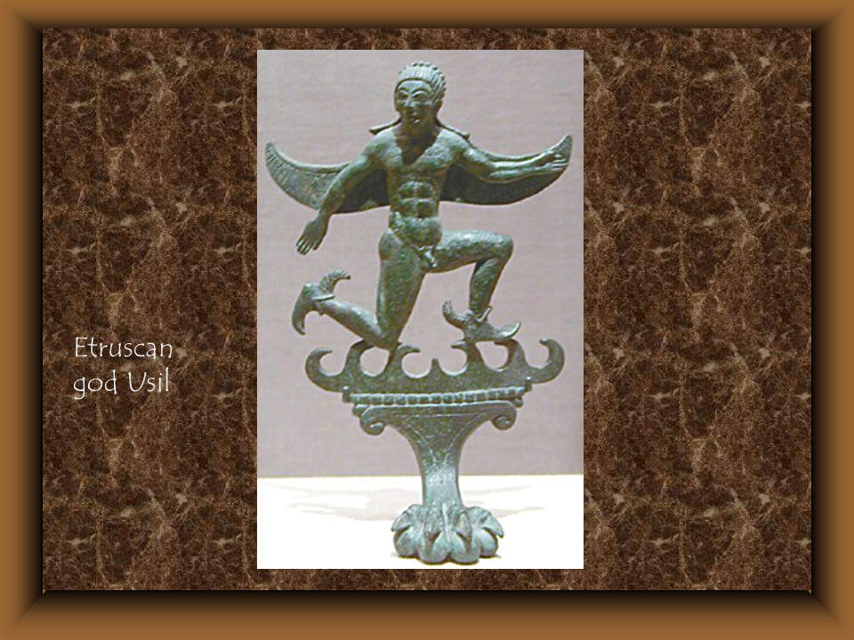 Etruscan god Usil