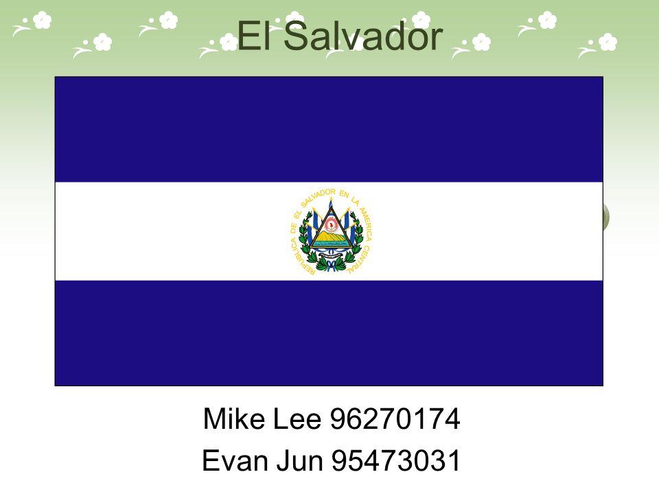 El Salvador Mike Lee 96270174 Evan Jun 95473031