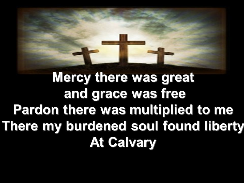 By God s Word at last my sin I learned my sin I learned Then I trembled at the law I d spurned Till my guilty soul imploring turned To Calvary