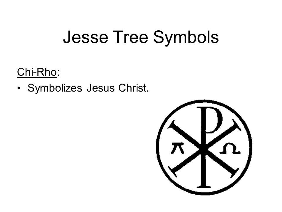 Jesse Tree Symbols Chi-Rho: Symbolizes Jesus Christ.