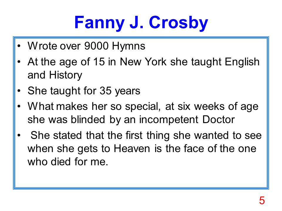 5 Fanny J.