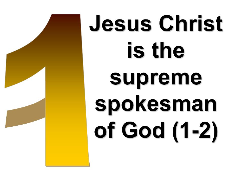 Jesus Christ is the Sustainer of the Universe (3).