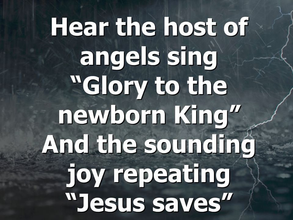 See the humblest hearts adore Him Jesus saves Jesus saves