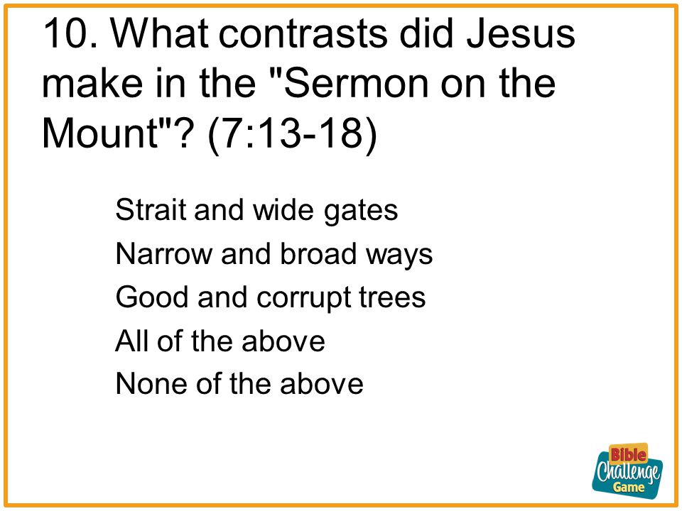 9.What example in nature did Jesus give us showing us God s provision.